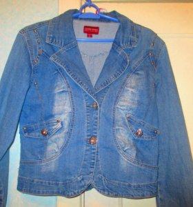Куртки джинсовые б/у