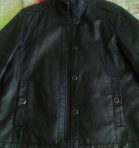 Черная куртка муж 46-48р
