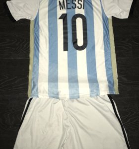 Футбольная форма Adidas.Сборная Аргентины. Messi.
