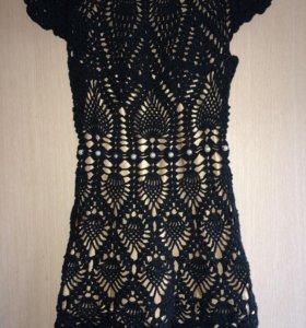 Платье ручной работы на рост 120/138.