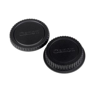 Крышки для байонета и объектива Nikon, Canon