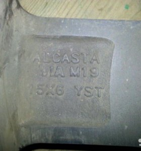 Литые диски Alcasta m19