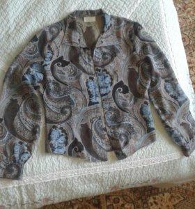 Тонкая блузка