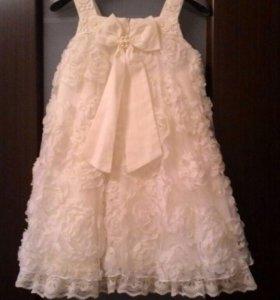 Платье нарядное рост 110