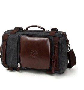 Сумка - рюкзак 40 литров, цвет черный