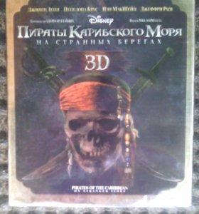 Пираты Карибского моря На странных берегах 3D blu-