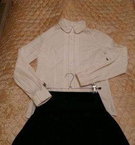 Школьные блузки новые и б/у