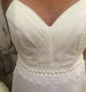 Новое свадебное платье р42-46