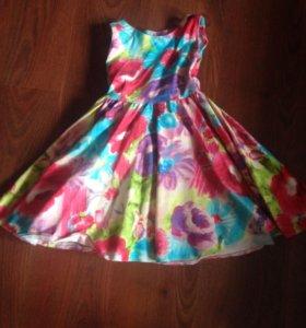 Детское платье 104-116-122