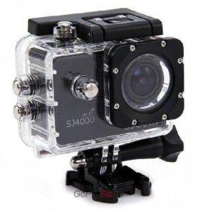 Новая экшн-камера sjcam sj4000 wifi с экраном