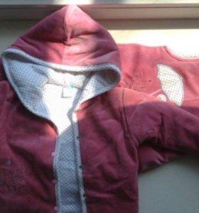 Костюм детский, штаны+куртка, 3-6 месяцев