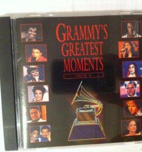 Японский CD диск Grammys greatest moments