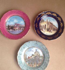 Тарелочки сувенирные