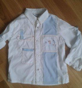 Рубашка новая р.104
