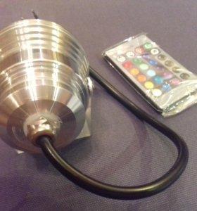 Led rgb лампа светодиодная