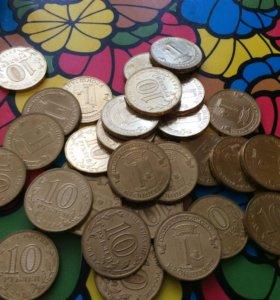 10 рублей 2013 год. Кронштадт