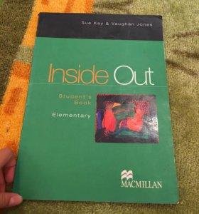 Учебник по английскому Inside out.
