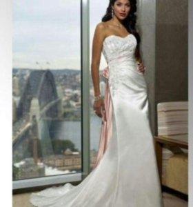 Свадебное платье для нежной невесты