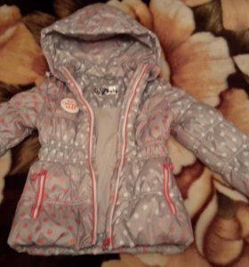 Куртка для девочки весна-осень в хорошем состоянии