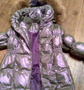 Куртка зимняя пух 110-116