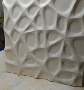 Гипсовые 3 D панели