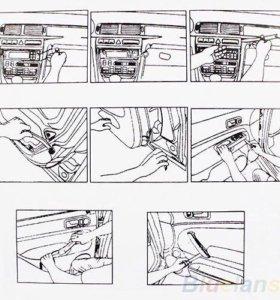 Набор инструментов для снятия обшивки авто