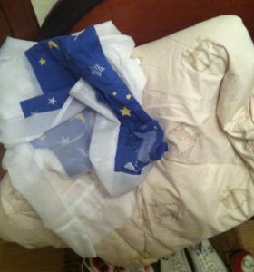 Одеяло шерстяное с балдахином