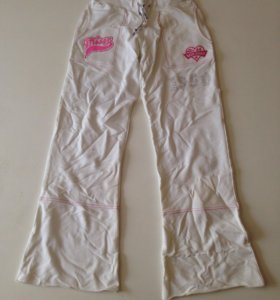 штаны белые с рисунком👖