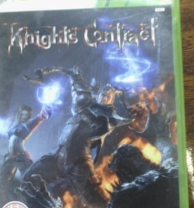 Диск xbox360 Knights contract