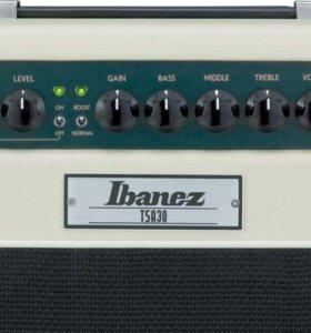 Гитарный ламповый усилитель Ibanez TSA30