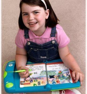 Leap pad learning system