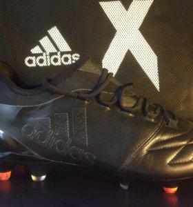 Футбольные бутсы Adidas X16.1SG LEather
