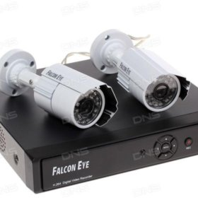 Система видеонаблюдения Falkon Eye FE-104D KIT Lig