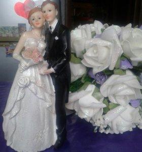Свадебная фигурка Жених и Невеста
