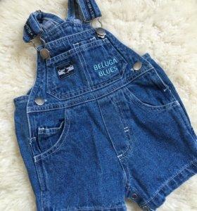 Комбинезон джинсовый 62 размер