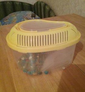 Мини-аквариум для черепашек