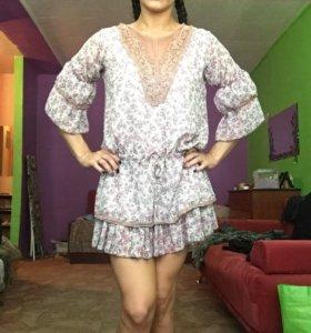 Платье шифон 42-44р