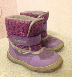 Ботинки зимние kapika 30 размер