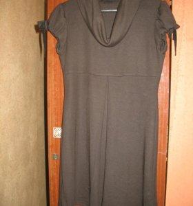 платье трикотажное 46р