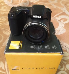 Фотоаппарат Nikon coolpix l 340
