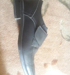 Обувь (кожа) .32 размер. Одевал 1 раз