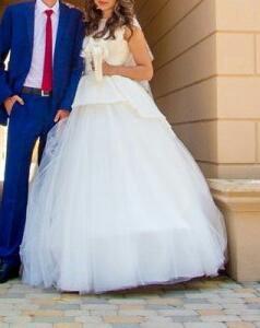 Выставочное свадебное платье
