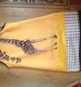 Новое платье с жирафом