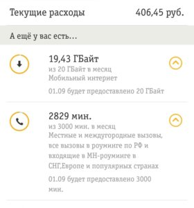 Тариф БИЛАЙН Престижный за 700