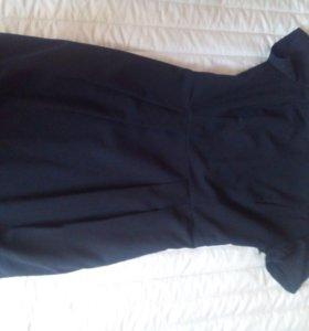 Платье 40-42р. Черное