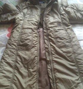 Зимнее пальто на 10 лет