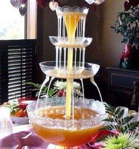 Фонтан для  для напитков на Ваш праздник