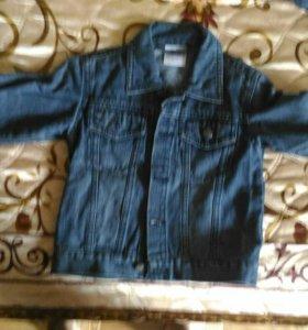 Джинсовые куртки на мальчика 98-104