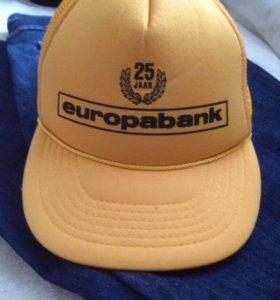 Бейсболка Europabank