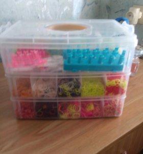 Ящик с резиночками для плетения
